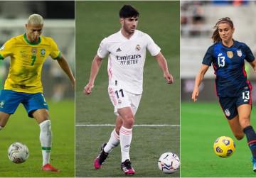 11 Bintang yang Meramaikan Sepak bola di Olimpiade Tokyo ...